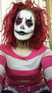 tried my hand at clown makeup