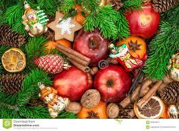 fruit christmas decorations. Exellent Fruit Download Christmas Ornaments And Decorations Apples Mandarin Fruits Wa  Stock Image  Inside Fruit Decorations E