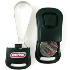 genie g1t bx intellicode key chain garage door remote control 390 315mhz 38501r