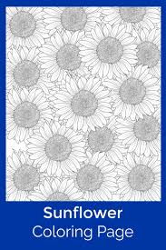 Sunflower coloring pages ➤ sunflowers with and without stem & more free printable coloring pages ✎ colomio entdecken. Free Printable Sunflower Coloring Page Mama Likes This