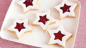christmas star cookies. Wonderful Cookies Linzer Star Christmas Cookies For H