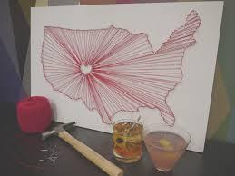 create nail and string art at upstairs circus a diy bar in lodo denver