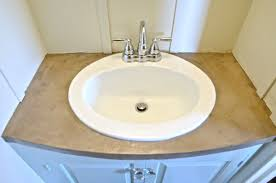 refinish bathroom sink