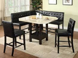 dining room set with booth seating. dining booth table set room with seating n