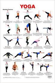 Yoga Chart 1 Amazon Co Uk Dreamland Publications
