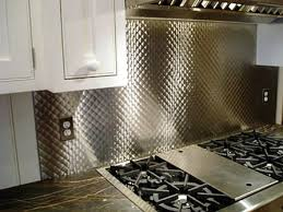 Brushed 1  Quilted Stainless Steel #Backsplash #kitchen ... & Brushed 1