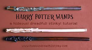 wand tutorial for diy craft at a harry potter party