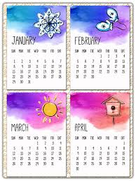 more calendars calendar 2017 printable calendar a4 monthly by graphicartstyle