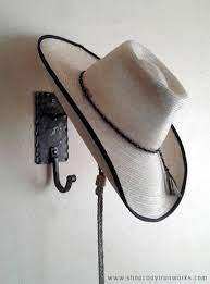 reduced cowboy hat coat rack