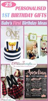 25 personalised 1st birthday gifts a baby s first birthday ideas