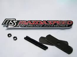 mazdaspeed emblem. mazdaspeed 3 hood promotiononline shopping for emblem