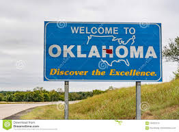 Image Image Oklahoma Welcome Stock - 103322273 Background To Sign Of