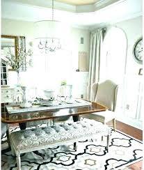 round kitchen rug table under dining galley ideas