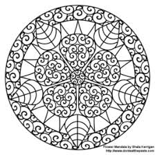 Small Picture Fractal Coloring Pages AZ Coloring Pages Coloring In Pages In New