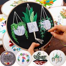 Circle <b>Embroidery</b> Kits ,<b>Embroidery</b> Set,<b>Needlework Embroidery</b> ...