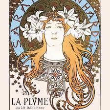 Art Nouveau Poster Designers Biography Of Alphonse Mucha Czech Art Nouveau Artist