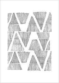 Art Print Graphic Pattern 50 X 70 Cm Frjor