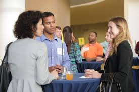students make career connections through alumni mentoring image
