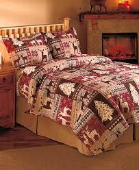3-PIECE CHRISTMAS LODGE HOLIDAY QUILT SET - Comes in Sizes Full ... & 3-PIECE CHRISTMAS LODGE HOLIDAY QUILT SET - Comes in Sizes Full/Queen: Adamdwight.com