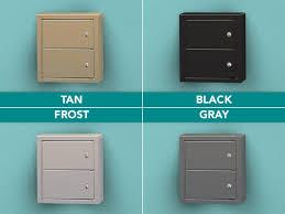 double compartment locker color options