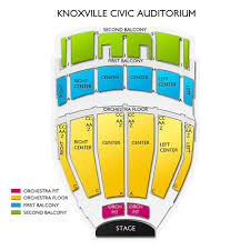 Civic Coliseum Seating Chart Knoxville Tn Knoxville Civic Auditorium 2019 Seating Chart