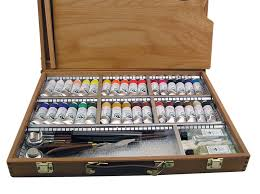 old holland oil deluxe wood box set