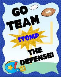 Make A Football Cheer Poster Football Fan Poster Ideas