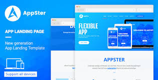 Muse Website Templates Unique Appster Landing Page Template Muse Template By DEVThemes