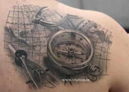Tetovani Motiv Kompas 3jpg Motivy Tetování Vzor Tetování