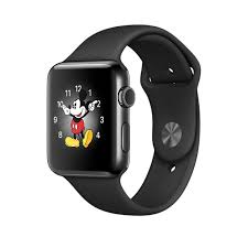 apple watch series 2 42mm. refurbished apple watch series 2, 42mm space black stainless steel case with sport band 2 p