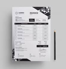 Modern Invoice Modern Elegant Invoice Template 000531 Template Catalog
