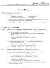 college instructor resume my sample resume technical instructor sample resume high college sample resume