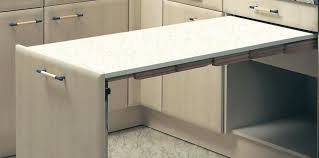 pullout table white cutting boards wide x long presto pull out table for base cabinets and