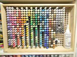 Artist Loft Sketch Markers Color Chart 20 Clever Ways To Organize Your Coloring Supplies