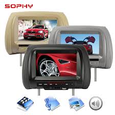 <b>7 inch</b> TFT LED <b>Screen</b> Video Player Universal <b>Car</b> Headrest ...