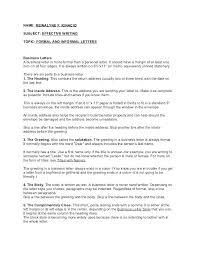 Informal Essay Format Essay Format Example Informal Essay Format