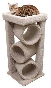 modern pet furniture. Modern Cat Tower Furniture For Large Cats Beige Carpet By CozyCatFurniture - B007VPMSWU Pet L