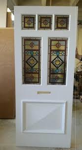 5 panel door with raised wooden insert