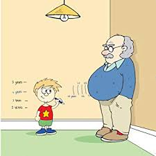 Height Chart Blank Twizler Funny Card With Grandson Grandad Height Chart And Beer