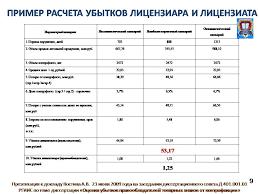 Доклад Костина А В на защите диссертации ОЦЕНКА УБЫТКОВ  Слайд 9