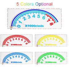 Yellow Light On Speedometer Rear Windshield Speedometer Shape Decorative Light Music Rhythm Light 3m Yellow Light