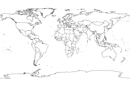 World Map Black And White Printable With Countries World Map Black And White World Wide Maps