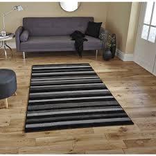 impressive grey and black rug cievi home