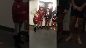 State of origin game 3 2017 coin toss ...