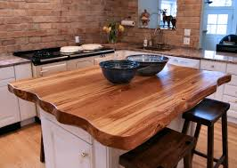 Wood Bar Top Natural Edges Wane Edges On Custom Wood Countertops And Table Tops