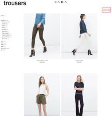 how effective is zara s unique on site search tool econsultancy if you choose the four items per page symbol you re then treated to an infinitely scrolling page where you can see every single one of the 173 pairs of
