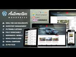 Download The Automotive Car Dealership Wordpress Theme