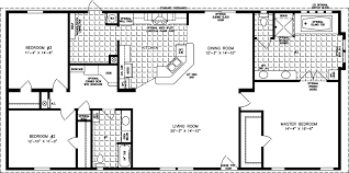 manufactured home floor plan the t n r model tnr 46410w 3 bedrooms 2