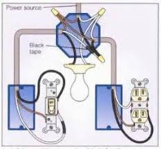 wiring diagram for switched light images light and outlet 2 way switch wiring diagram