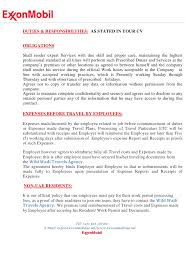 Exxon Contract Appointment Letter Pdf Archive
